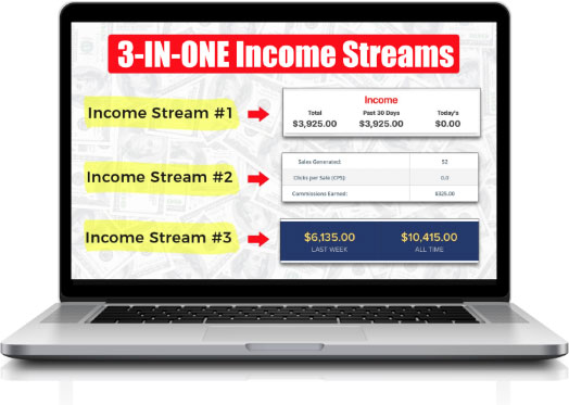 Easy 3+ Income Streams